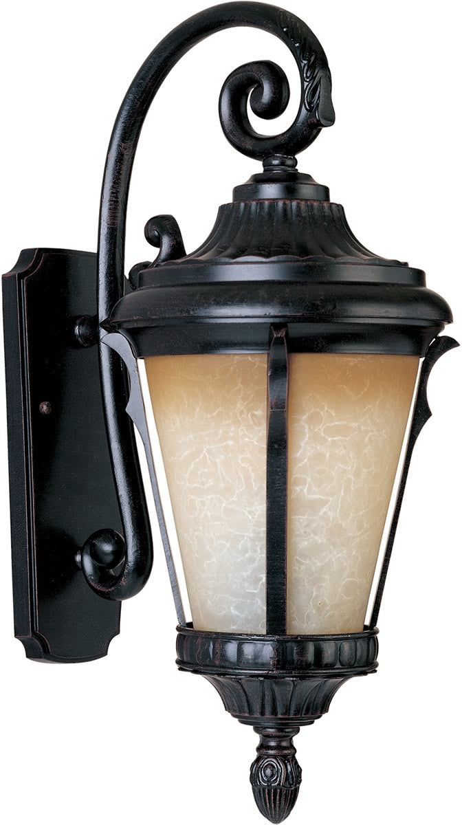 Odessa LED 1-Light Outdoor Wall Lantern Espresso