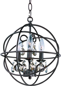 Orbit 3-Light Chandelier Oil Rubbed Bronze