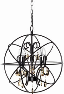 Maxim Orbit 4-Light Chandelier Oil Rubbed Bronze 25142OI