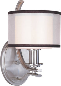 "7""w Orion 1-Light Wall Sconce Satin Nickel"