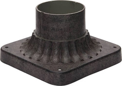 Maxim Outdoor Cast Pier Mount Earth Tone