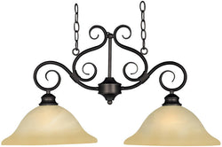 Maxim Pacific 2-Light Island Pendant Kentucky Bronze 2651WSKB