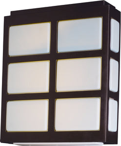 Packs LED Wall Lantern Metallic Bronze