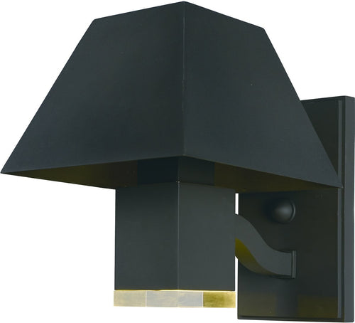 Maxim Pavilion LED 2-Light Outdoor Wall Lantern Black 53512CLBK