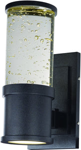 Maxim Pillar LED 2-Light Wall Mount Galaxy Black 53685CLGBK