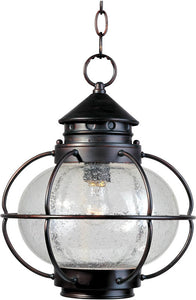Maxim Portsmouth 1-Light Outdoor Hanging Lantern Oil Rubbed Bronze 30506CDOI