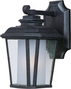 "11""H Radcliffe EE 1-Light Small Outdoor Wall Black Oxide"