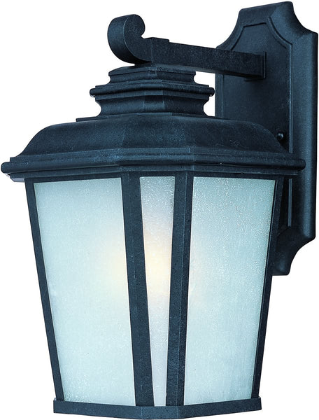 Maxim Radcliffe 1-Light Small Outdoor Wall Black Oxide 3343WFBO