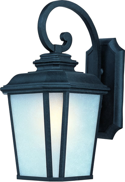 Maxim Radcliffe 1-Light Large Outdoor Wall Black Oxide 3346WFBO