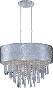 Maxim Rapture 9-Light Pendant Satin Nickel 22295WTSN