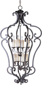 Maxim Richmond 8-Light Entry Foyer Pendant Colonial Umber 20744CU