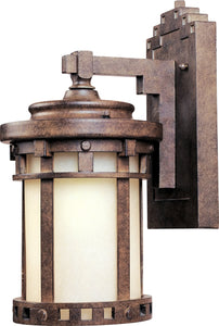 Maxim Santa Barbara LED 1-Light Outdoor Wall Lantern Sienna 55031MOSE