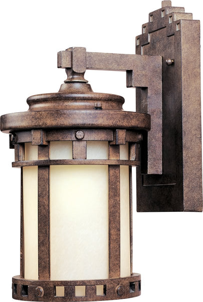 Santa Barbara LED 1-Light Outdoor Wall Lantern Sienna