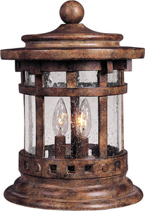 Maxim Santa Barbara VX 3-Light Outdoor Deck Lantern Sienna 40032CDSE