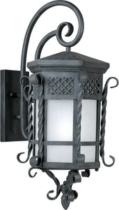 Maxim Scottsdale EE 1-Light Outdoor Wall Mount Country Forge 86325FSCF