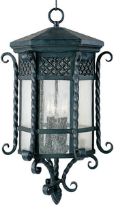 Maxim Scottsdale 3-Light Outdoor Hanging Lantern Country Forge 30129CDCF