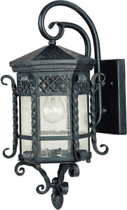 Maxim Scottsdale 1-Light Outdoor Wall Mount Country Forge 30123CDCF