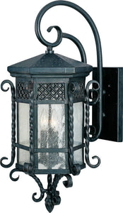 Maxim Scottsdale 3-Light Outdoor Wall Mount Country Forge 30125CDCF