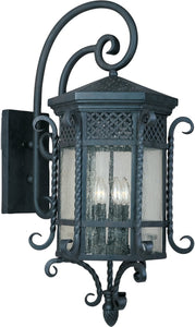 Maxim Scottsdale 5-Light Outdoor Wall Mount Country Forge 30126CDCF