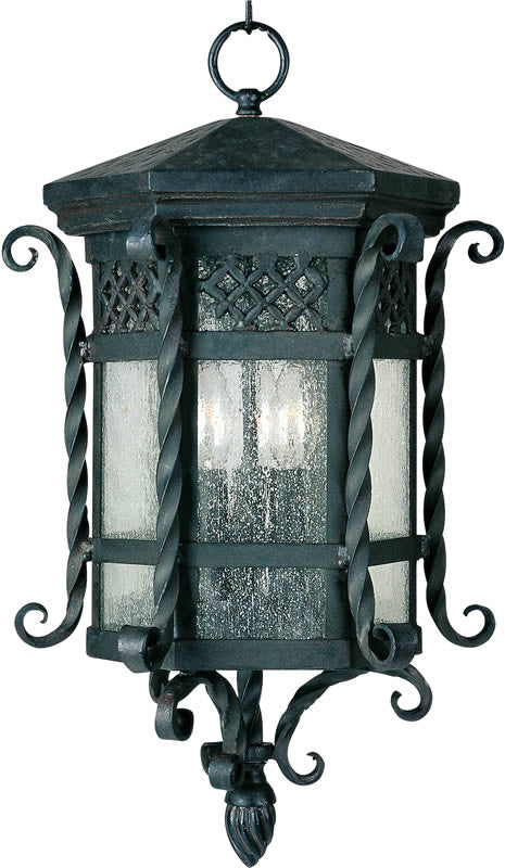 "11""w Scottsdale 3-Light Outdoor Hanging Lantern Country Forge"