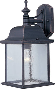 Maxim Senator 1-Light Outdoor Wall Lantern Rust Patina 1056RP