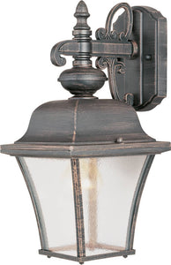 "15""h Governor 1-Light Outdoor Wall Mount Rust Patina"