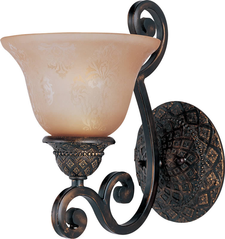 "7""w Symphony 1-Light Wall Sconce Oil Rubbed Bronze"