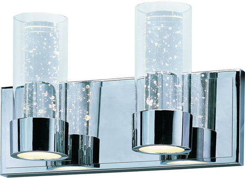 Maxim Sync 4-Light LED Bath Vanity Polished Chrome 20902CLPC
