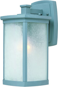 Maxim Terrace LED 1-Light Medium Outdoor Wall Platinum 55753FSPL