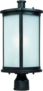 Maxim Terrace 1-Light Medium Outdoor Post Bronze 3250FSBZ