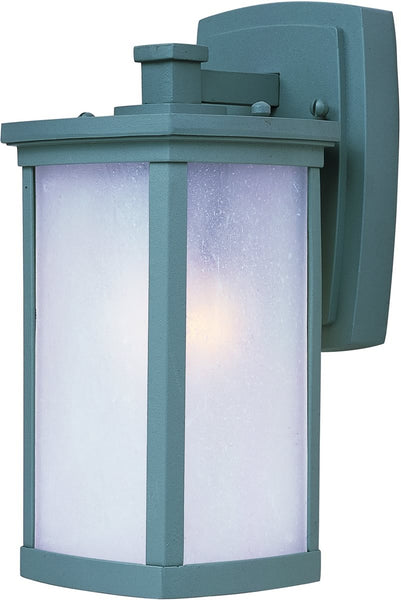 Maxim Terrace 1-Light Small Outdoor Wall Platinum 3252FSPL
