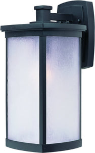 Maxim Terrace 1-Light Large Outdoor Wall Bronze 3254FSBZ