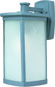 Maxim Terrace 1-Light Large Outdoor Wall Platinum 3254FSPL