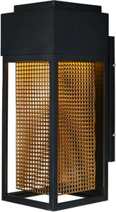 Maxim Townhouse LED 1-Light Outdoor Wall Lantern Galaxy Bronze / Rose Gold 53599GBZRG
