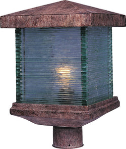 Maxim Triumph Vivex 1-Light Outdoor Pole/Post Mount Earth Tone 48735CLET