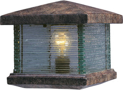 "10""h Triumph VX 1-Light Outdoor Deck Lantern Earth Tone"