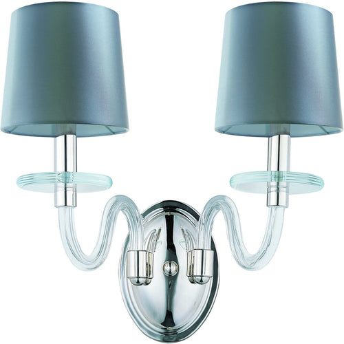 Maxim Venezia 2-Light Wall Polished Nickel 27542CLPN