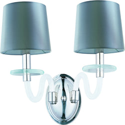 Maxim Venezia 2-Light Wall Polished Nickel 27542FTPN