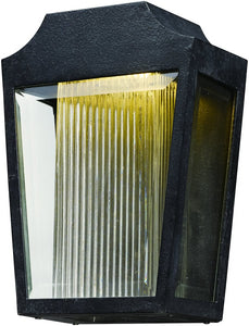 "12""H Villa LED Outdoor Wall Lantern Anthracite"