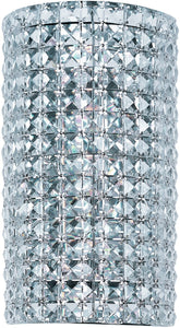 Maxim Vision 3-Light Wall Sconce Polished Chrome 39939BCPC