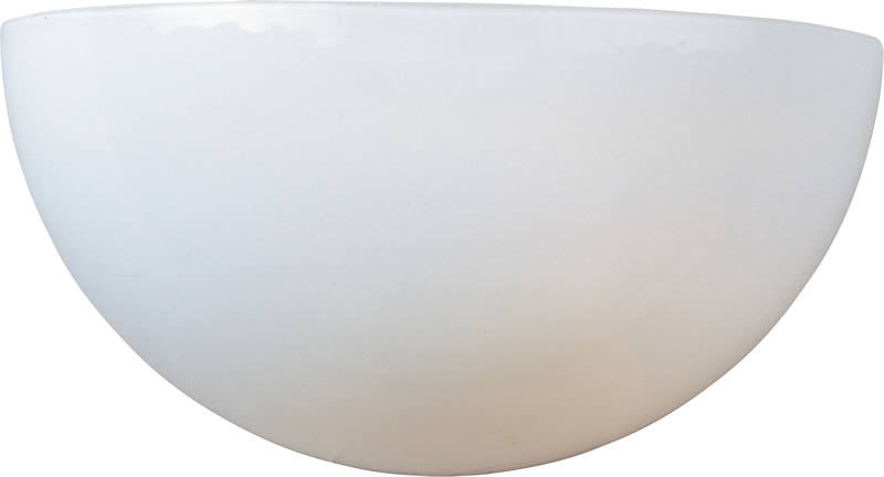 "11""w Maxim 1-Light Wall Sconce White"