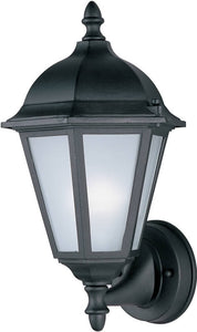 Maxim Westlake 1-Light Outdoor Wall Lantern Black 85102BK