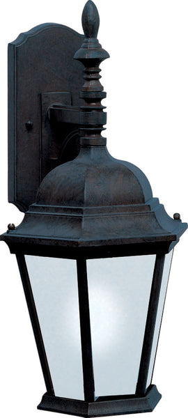 Maxim Westlake LED 1-Light Outdoor Wall Lantern Black 55104BK