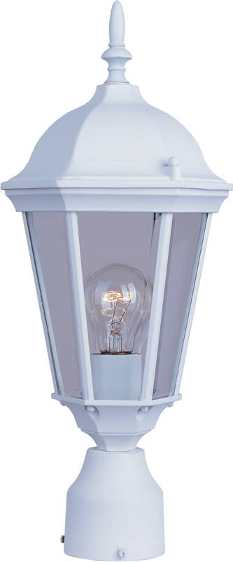 "19""h Westlake 1-Light Outdoor Pole/Post Lantern White"