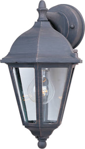 Maxim Westlake 1-Light Outdoor Wall Lantern Rust Patina 1000RP