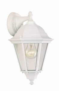 Maxim 15 inchh Westlake Die-Cast 1-Light Outdoor Wall Lantern White