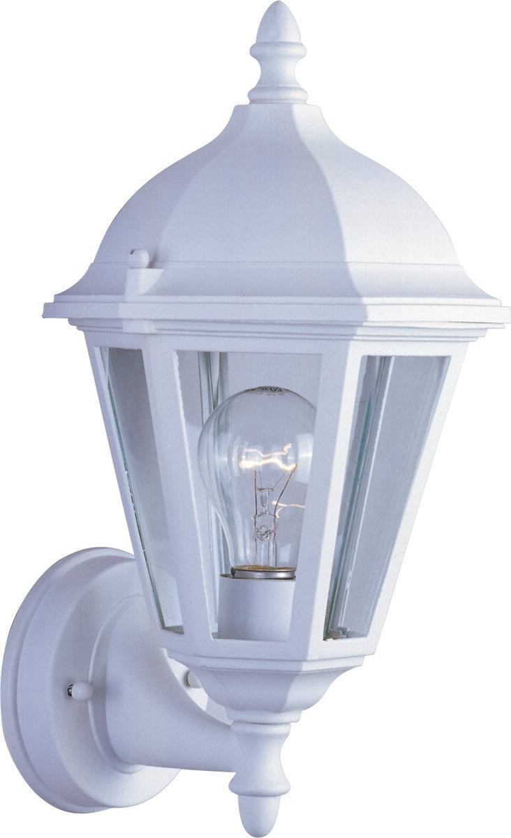 "15""H Westlake 1-Light Outdoor Wall Light White"
