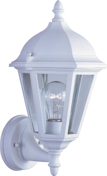 Maxim Westlake 1-Light Outdoor Wall Light White 1002WT