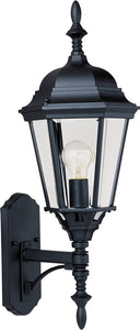 Maxim Westlake 1-Light Outdoor Wall Mount Black 1003BK