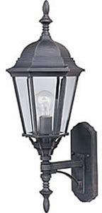 Maxim Westlake Die-Cast 1-Light Outdoor Wall Lantern White 1003WT